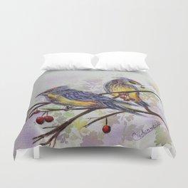 Love Birds 2 | oiseaux amoureux 2 Duvet Cover