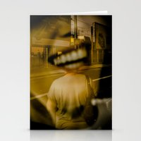 talking heads Stationery Cards featuring heads by Diogo Andrade