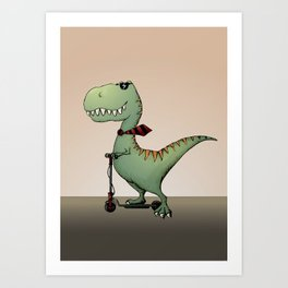This is how I roll! Art Print