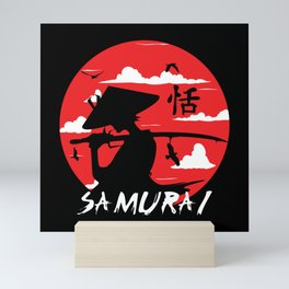 Samurai Japan Mini Art Print