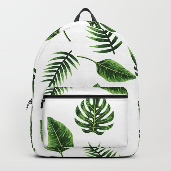 TROPICAL LEAVES 3 Backpack