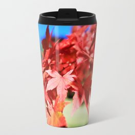 Japanese Maple Leaves 2 Travel Mug