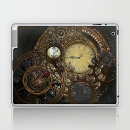 Steampunk Clocks Laptop & iPad Skin