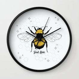 Just Bee. Wall Clock
