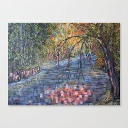 Lazy River Days Canvas Print