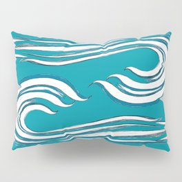 waves mother ocean Pillow Sham