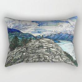Beyond the Edge Rectangular Pillow