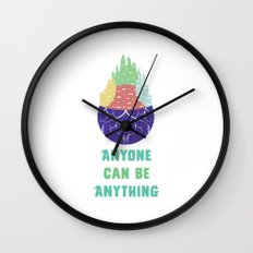 Zootopia - Anyone Can Do Anything Wall Clock