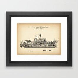 The Belafonte Vintage Print Framed Art Print