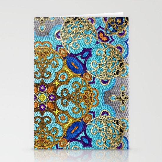 Mix&Match Byzantine Mosaic 03 Stationery Cards