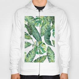 Jungle Leaves, Banana, Monstera #society6 Hoody