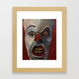 Klown Framed Art Print