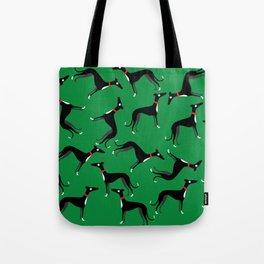 Crazy Hounds Tote Bag