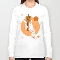sailormoon Long Sleeve T-shirts featuring Venus by scoobtoobins