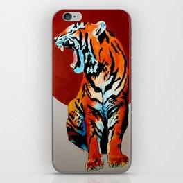 Tiger and Sun iPhone Skin