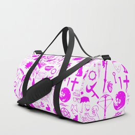 Buffy Symbology, Pink Duffle Bag