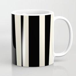 BW Oddities III - Black and White Mid Century Modern Geometric Abstract Coffee Mug