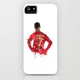 Ronaldo Vintage iPhone Case