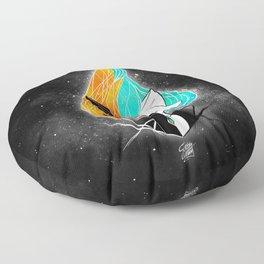 Nightmare/ScribbleNetty (Galaxy) Floor Pillow
