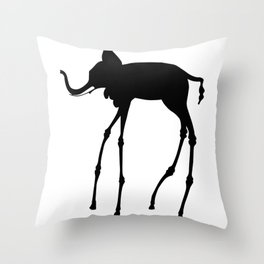 Salvador Dali Elephant, 1944 Dream Artwork Reproduction, Design, Tshirts, Posters, Jerseys Throw Pillow