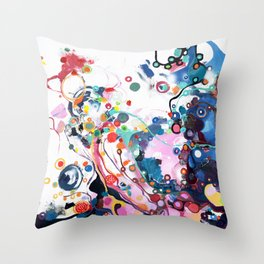 Flover of corruption Throw Pillow
