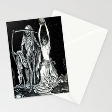 Death and the Maiden II Stationery Cards