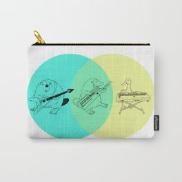 Keytar Platypus Venn Diagram Carry-All Pouch