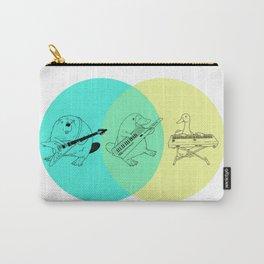 Keytar Platypus Venn Diagram Carry-All Pouch