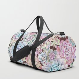 succulent allover Duffle Bag