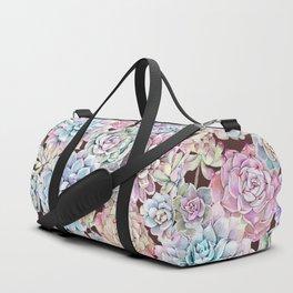 succulent allover Duffle Bag