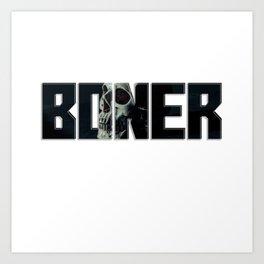 Boner Art Print