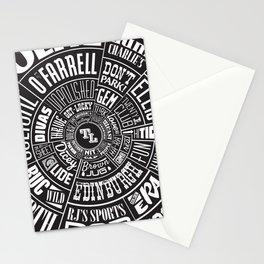 TenderLoin San Francisco Type wheel Stationery Cards