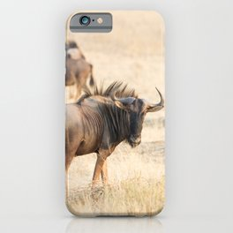 Group of wildebeest iPhone Case