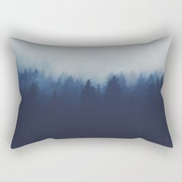 Misty Forest  2 Rectangular Pillow