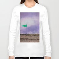 flag Long Sleeve T-shirts featuring Flag by Maite Pons