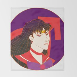 Sailor Mars Throw Blanket