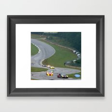 Road Atlanta Framed Art Print
