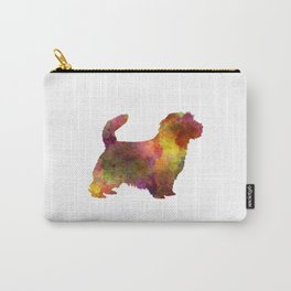 Norfolk Terrier in watercolor Carry-All Pouch