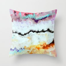 Agitation Inverted Throw Pillow