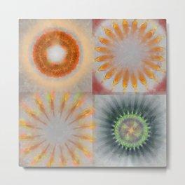 Untheologize Consonance Flowers  ID:16165-115853-31050 Metal Print