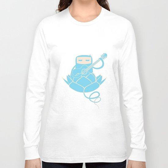 Lotus&Guitar Long Sleeve T-shirt