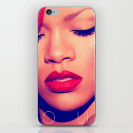 RIHANNA LOUD LIVE TOUR DATES 2019 MELATI iPhone Skin