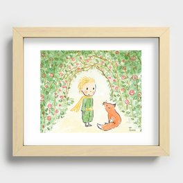 Le Petit Prince Recessed Framed Print