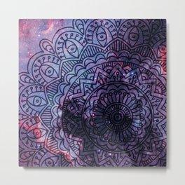 Space mandala 14 Metal Print