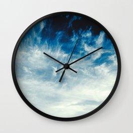 Thunderous Skies Wall Clock