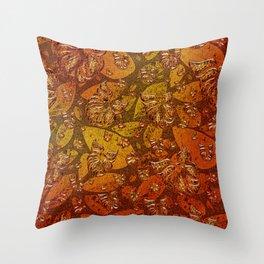 Mosaic of Birds V2 Throw Pillow