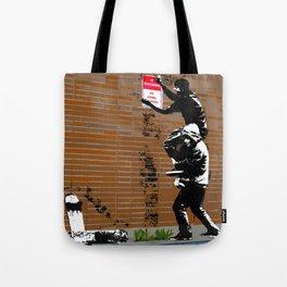 No Skateboarding Tote Bag