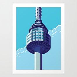N Tower - Seoul Art Print