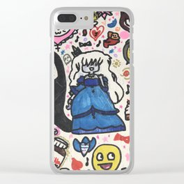 Pop Swag Too Clear iPhone Case