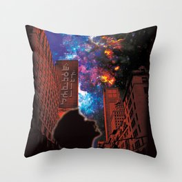 Wonder Full Throw Pillow